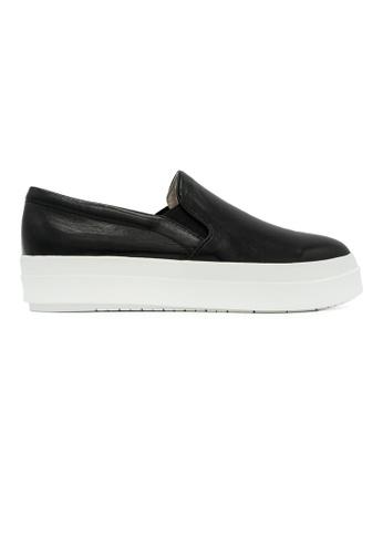 Gripz black Camden Round Toe High Platform Loafers 30DD2SH5D20ACCGS_1