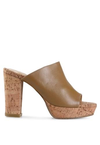 Elle Shoes brown EL 30105 EL820SH28CKHID_1