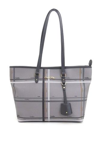 Carlo Rino grey Carlo Rino 0303881-018-28 Tote bag (Grey) C3D0FACC47EC8CGS_1