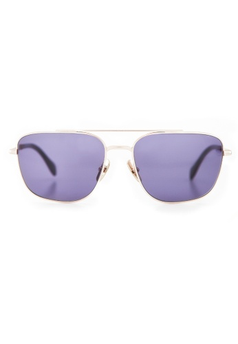 Marshall Eyewear grey and gold Jimi Gold MA266AC78OWBSG_1