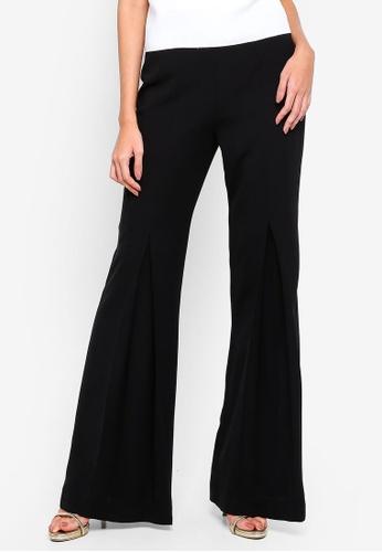 Alia B. black Della Flared Trousers 82554AA3652875GS_1
