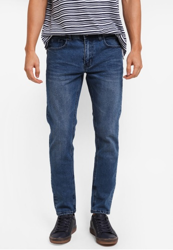 Cotton On blue Slim Fit Jeans F1563AA0A78393GS_1