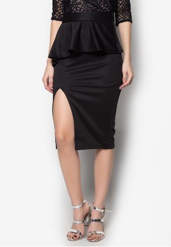 Madelaine Ongpauco Barlao black Reese Skirt MA508AA06ENLPH_1