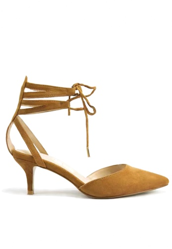 Twenty Eight Shoes Lace Up Point Toed Mid Heels VS101 TW446SH26VVLHK_1