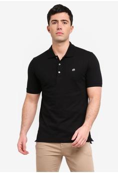 bf9e31799b4 Banana Republic black Branded Pique Polo Shirt EFC12AA4A6395CGS 1