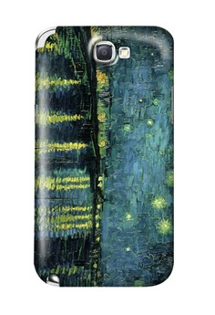 Over the Rhone Matte Hard Case for Samsung Galaxy Note 2