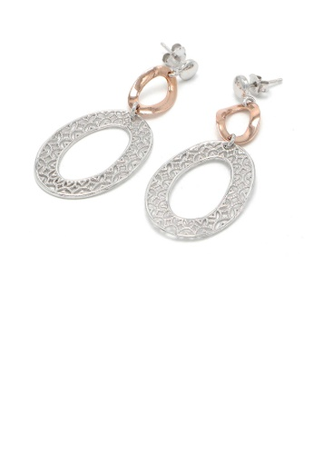 Glamorousky silver Italian Rose White 925 Sterling Silver Earrings 5FD91AC963896DGS_1