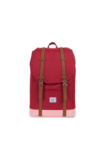 Herschel red Retreat Mid-Volume 6C937ACF321678GS_1