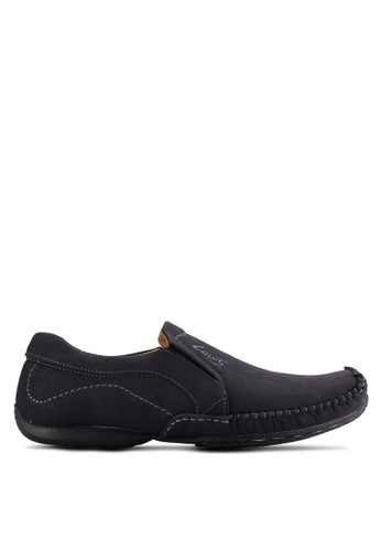 Louis Cuppers black Casual Slip Ons LO977SH65AVUMY_1