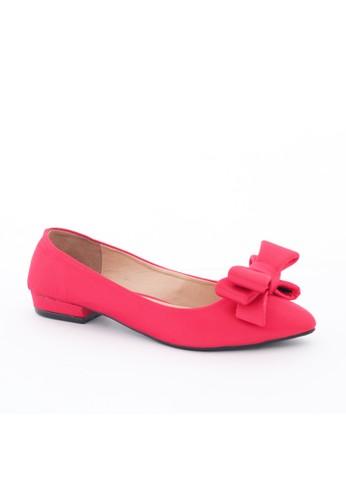 MINKA red CHARLOTTE Red Low Heels MI006SH94ETTID_1