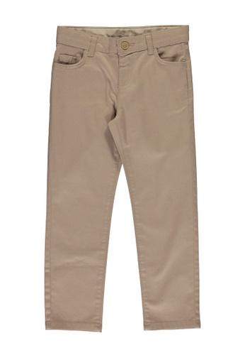 LC Waikiki beige Regular Waist Skinny Trousers BF421KABCC12F2GS_1