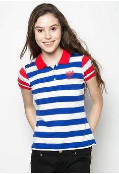Combi Stripes Polo Shirt