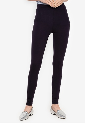 MARKS & SPENCER navy Cotton Rich Leggings 35E30AA3F2B80AGS_1