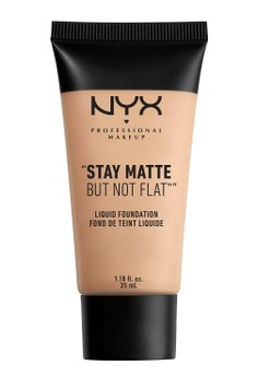 Stay Matte But Not Flat Liquid Foundation in Creamy Natural