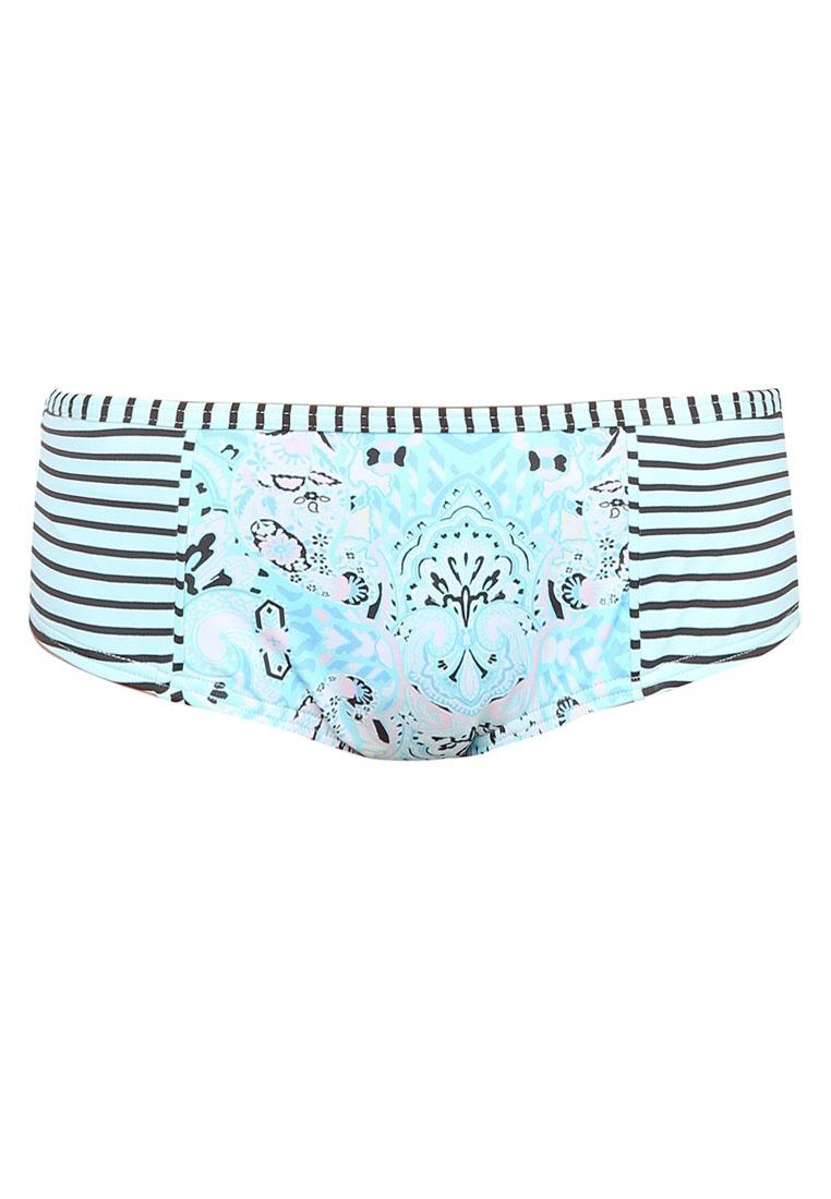 Bottom Hipster Boyleg Mint Stripes Boho Piha Bikini 1BFnXq