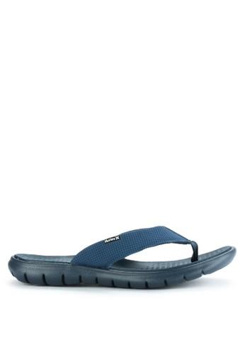 hurley blue Flex 2.0  Sandal EF13ESH6D30C1BGS_1