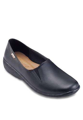 仿皮方頭平底鞋, 女鞋, esprit童裝門市鞋