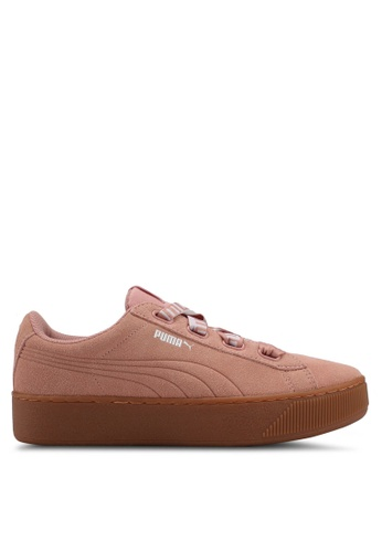 Puma pink Puma Vikky Platform Shoes PU549SH0SWE5MY_1