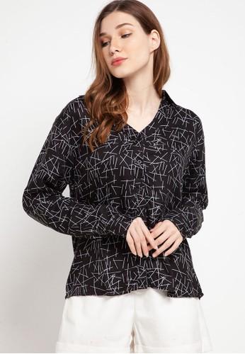 Spyderbilt black Ziena Ladies Shirt Long E6CD1AA1E81180GS_1