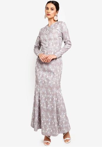 Zalia blue Embellished Lace Mermaid Dress BD888AA5C5D4A3GS_1