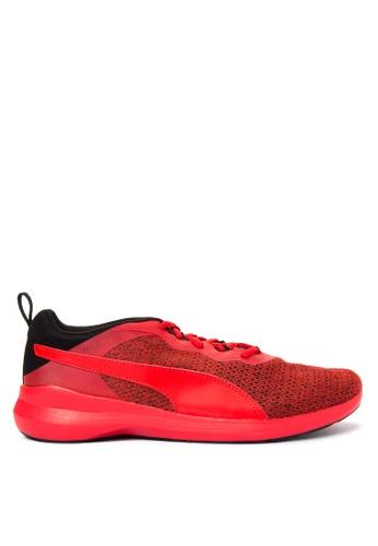 Puma red Pacer Evo Knit Pack PU758SH92GADPH_1