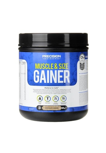 Holland & Barrett Precision Engineered Muscle & Size Gainer Powder Chocolate 681g 87FBAES17CB955GS_1