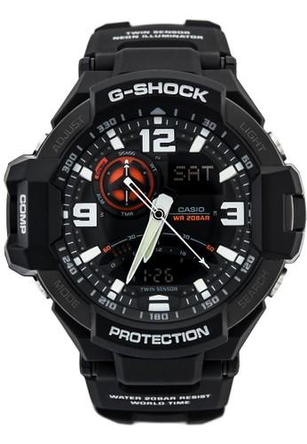 G-Shock black G-Shock Men GA-1000-1ADR Gravity Master Black 3E335AC3C99DC3GS_1