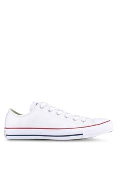 super popular 7d2ab e4ba0 Converse white Chuck Taylor All Star Leather Core Ox Sneakers  B8661SHB22CC01GS 1