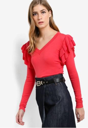 The Sienna 荷葉飾長袖衫, 服salon esprit 香港飾, 服飾