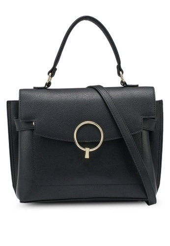nose black Structure Tote Bag 83A82AC6147117GS_1