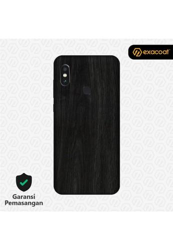 Exacoat Xiaomi Mi Mix 3 3M Skins Wood Series - Wood Ebony 1C0DDES3FB5E07GS_1