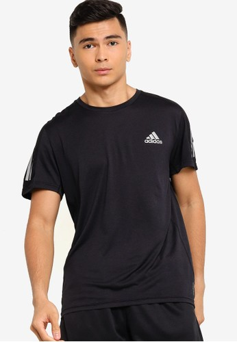 ADIDAS black own the run tee cooler men 3BFD3AA425B423GS_1