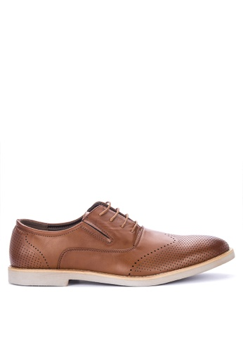 Preview brown Zaphod Formal Shoes 03180SHFB99247GS_1