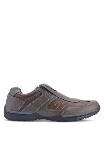 Weinbrenner grey Slip On Sneakers 8F909SH8F79C95GS_1