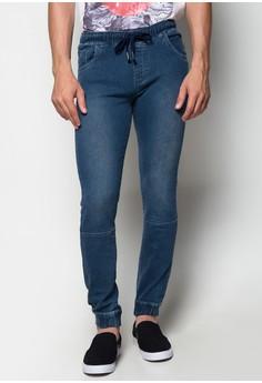 Jogger Jeans w/o Cuff at Hem