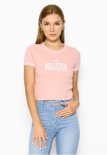 Hollister pink Sporty Top 44D7CAAFBEFCA7GS_1