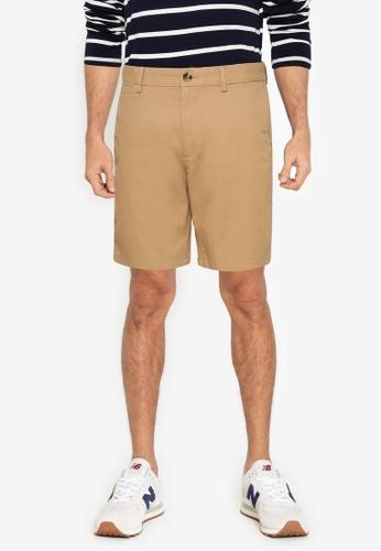 Old Navy 褐色 修身Chino 短褲 E2582AA5F9C2E3GS_1