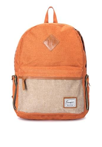 Transgear orange Backpack 128-TGBP TR281AC0IQO4PH_1