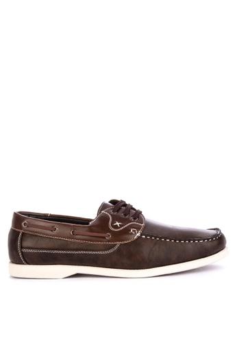 H2Ocean brown Taras Casual Boat Shoes Lace up 2250ESHC196CA6GS_1