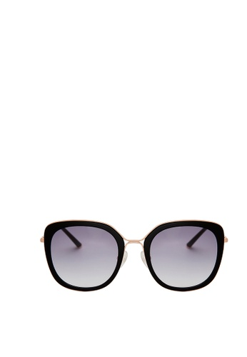 Carin black and multi and gold Linda C1 Sunglesses 204ACGLFD7361BGS_1