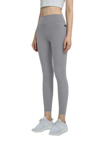 B-Code 灰色 ZWG1109-女士時尚瑜珈運動健身褲-灰色 CB8F3AAF4D18A6GS_1