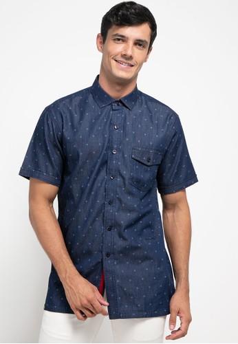 Ocean Pacific blue Shirt Short F075AAA8683EC7GS_1