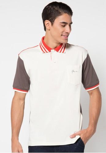 Hassenda white Short Sleeve HA130AA77IWSID_1