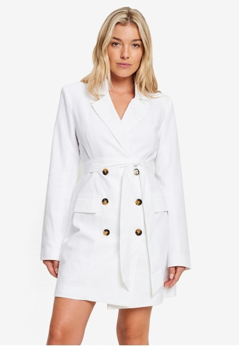 Calli 白色 Jules 西裝外套 洋裝 E3240AA77E2A41GS_1