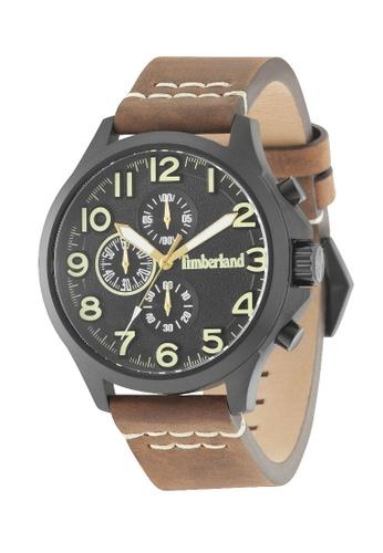 Timberland Watches brown Timberland TBL.15025JSB/02A BELLINGHAM 3 Hands Analog Men Watch 240FEACB3285FDGS_1