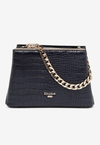 Dune London blue Dune London Dileina Chain Detail Small Day Bag 78B78ACD7DFF96GS_1