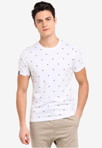 Volkswagen 白色 短袖印花T恤 920A3AAEFFBAFAGS_1