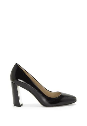 Enzo Angiolini black EN-CARSYN High Heel Leather Pumps A00A5SH5C196B7GS_1