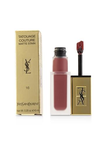 Yves Saint Laurent YVES SAINT LAURENT - Tatouage Couture Matte Stain - # 16 Nude Emblem 6ml/0.2oz E17CCBE151829CGS_1