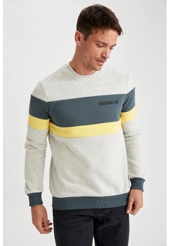 DeFacto beige Man Knitted Sweat Shirt 30F0FAA134DB01GS_1